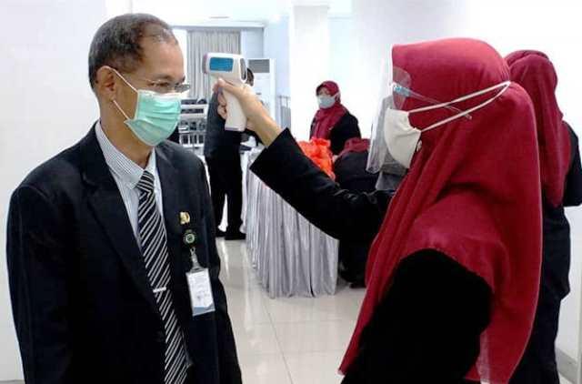 pemeriksaan suhu tubuh