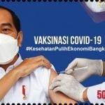 Prangko Baru Penanda Vaksinasi Covid-19