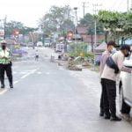 Ini Pos Penyekatan Lalu Lintas di Samarinda