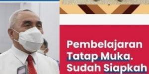 Gubernur Beber Alasan Kaltim Tak Siap PTM