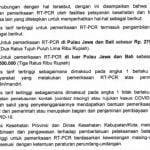 Catat, Harga RT PCR Turun Termasuk Luar Jawa-Bali