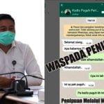 Orang Tak Bertanggung Jawab Catut Nama Kepala DPMPTSP Kaltim